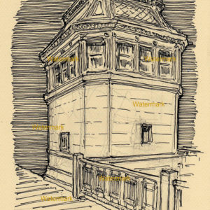 Chicago Landmark Pen & Inks