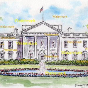 Washington D.C. Landmark Watercolors