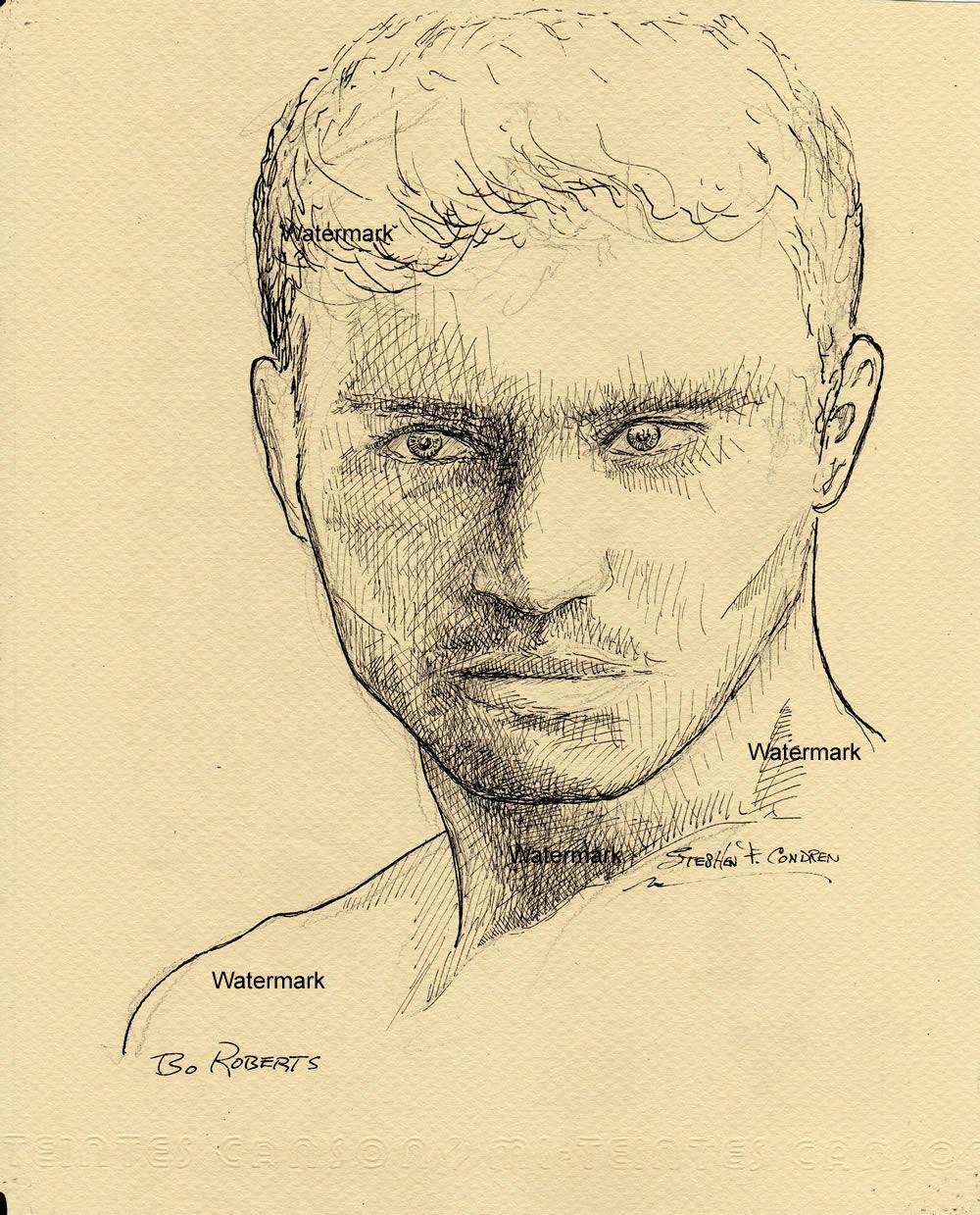 Portraits ~ Pen & Ink