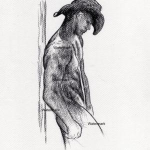 Male Figure Drawings