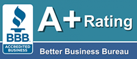 Better Business Bureau A+ ranking for Condren Galleries Ltd.