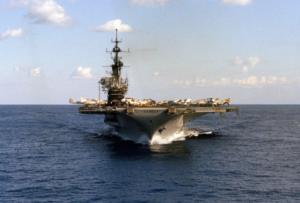 USS Midway CV-41, Aircraft Carrier.