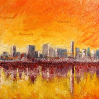 Chicago Skyline Oils