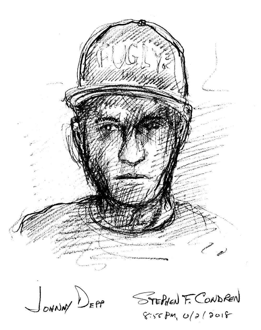Male Celebrity Drawings