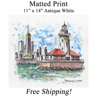 Matted print,