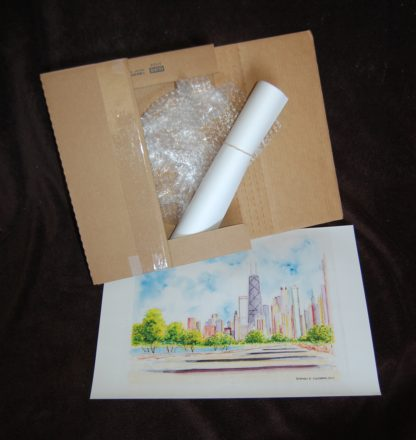 Free shipping for skyline prints