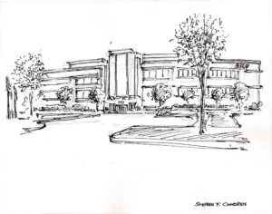 Architectural Rendering Pen & Ink 7/3/2018B