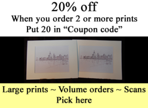 20% Off And Large Prints