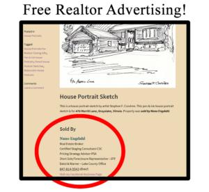 Free Realtor advertising by Stephen F. Condren.