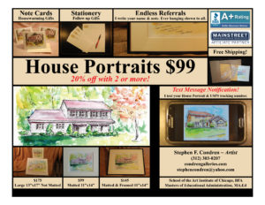 House Portrait Flier