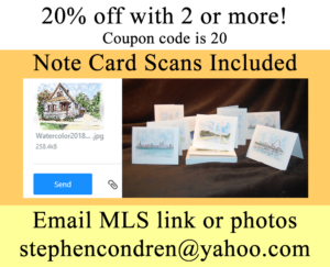 Scans With Note Cards Included