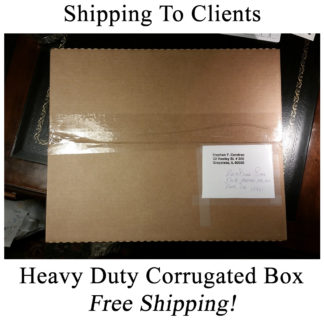 Strong corrugated shipping boxes to clients.