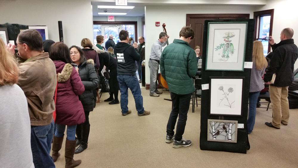 Grayslake Arts Alliance Pre-Spring Exhibit with artist Stephen F. Condren.