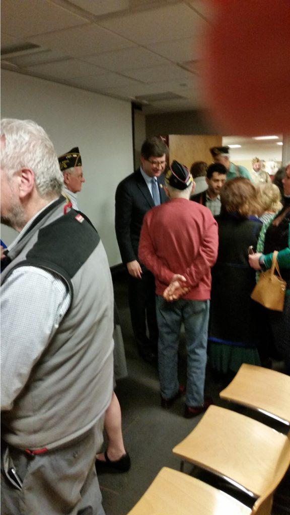 Congressman Bradley Schneider honors Vietnam War Veterans.