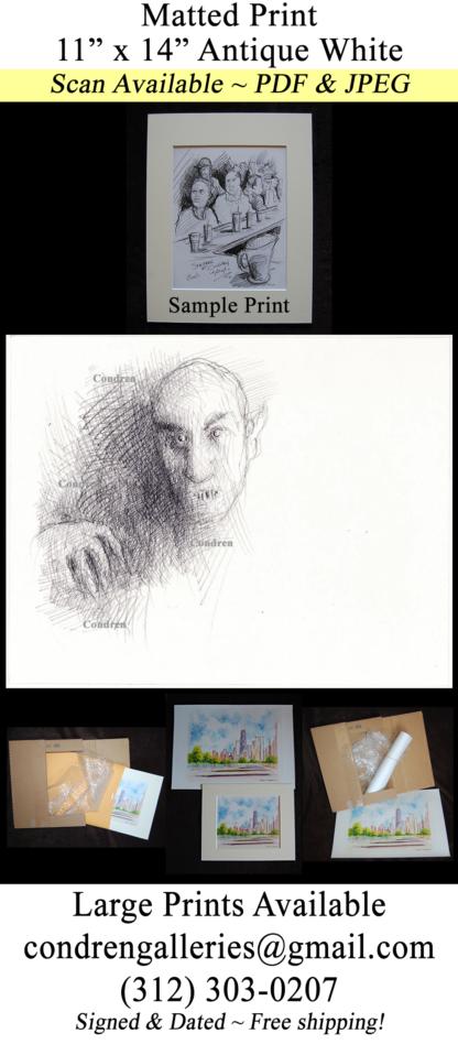 Nosferatu Pencil Drawing #755A
