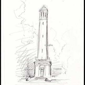 Denny Chimes #754A pencil drawings and prints at Condren Galleries.