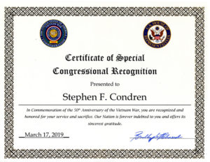 Congressional Recognition From Congressman Bradley Schneider.