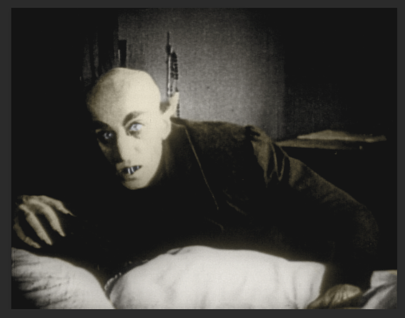 Count Orlok from Nosferatu By F. W. Murnau.