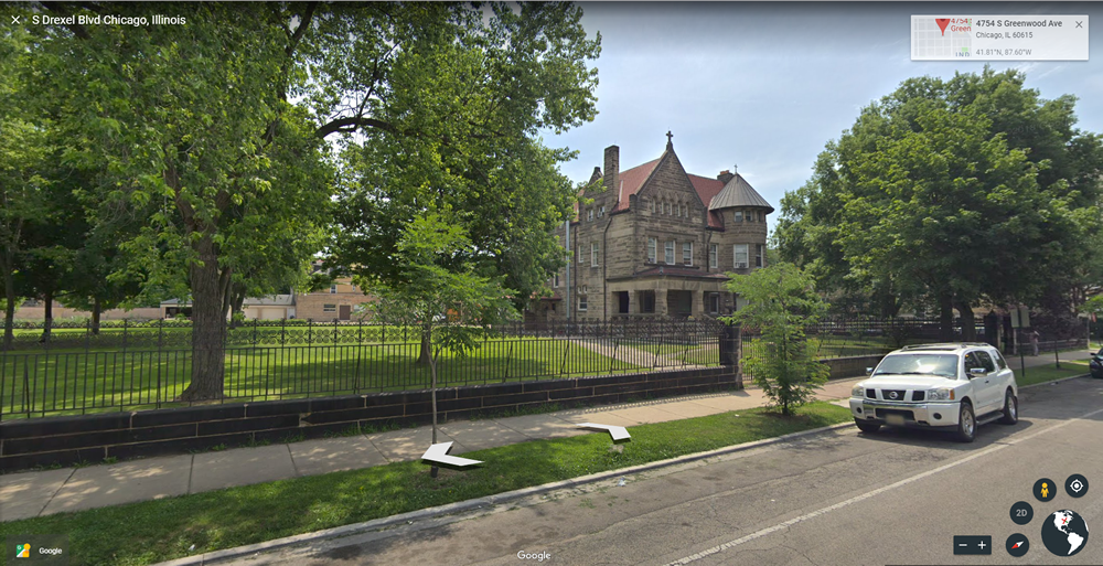 Martin A. Ryerson Mansion on Drexel Boulevard in Kenwood, Chicago.