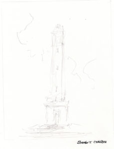 Denny Chimes #753A pen & ink drawings and prints at Condren Galleries.