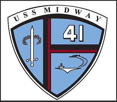 USS MidwayCV-41 Insignia