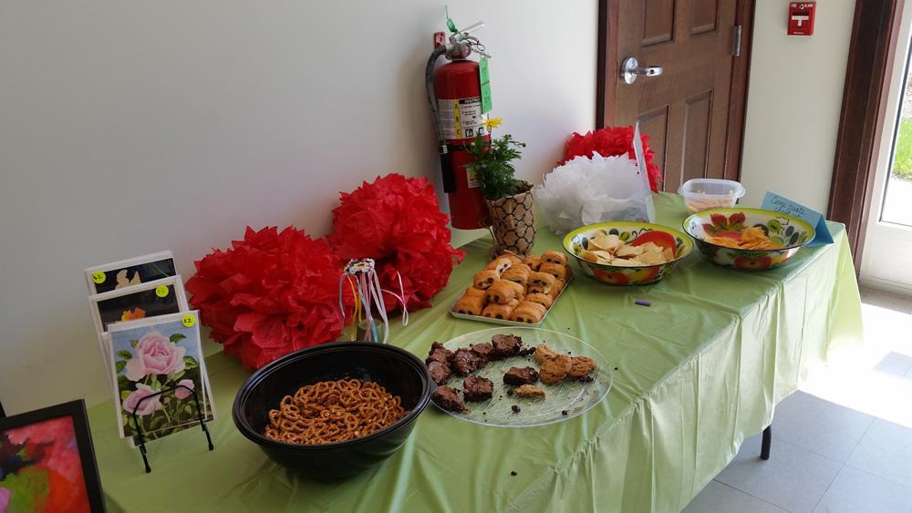 May Fest Food Offerings.