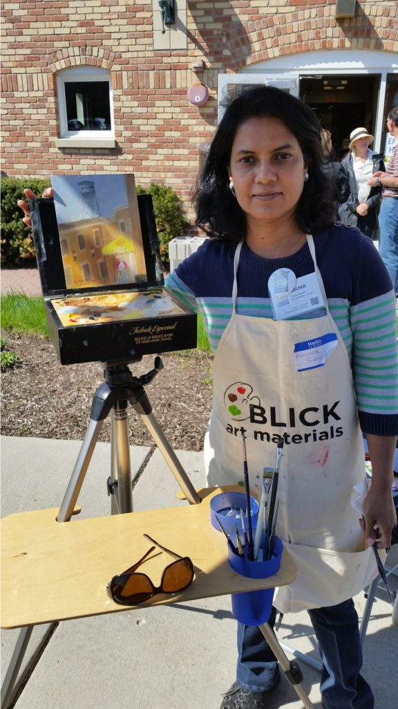 May Fest #291Z with artist Aruna N. Sarode, and photographs taken by artist Stephen F. Condren at Condren Galleries.