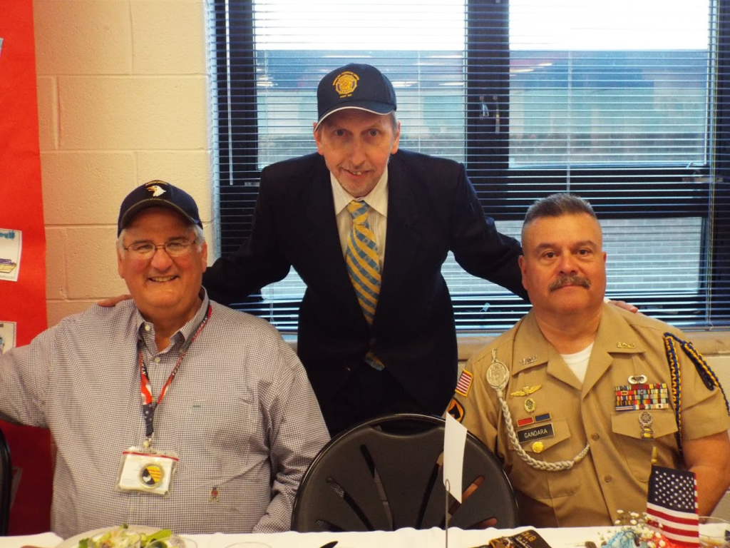 Mundelein Police Veterans Appreciation Dinner with artist Stephen F. Condren.
