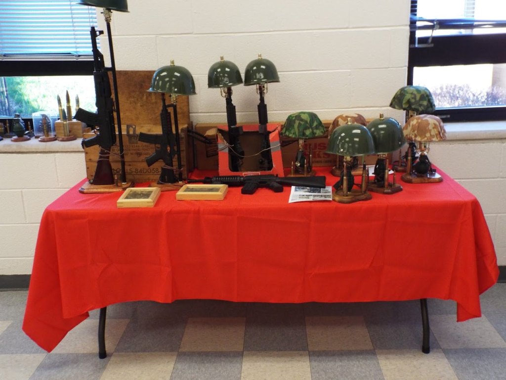 Weapons of war at Mundelein Police Veterans Dinner