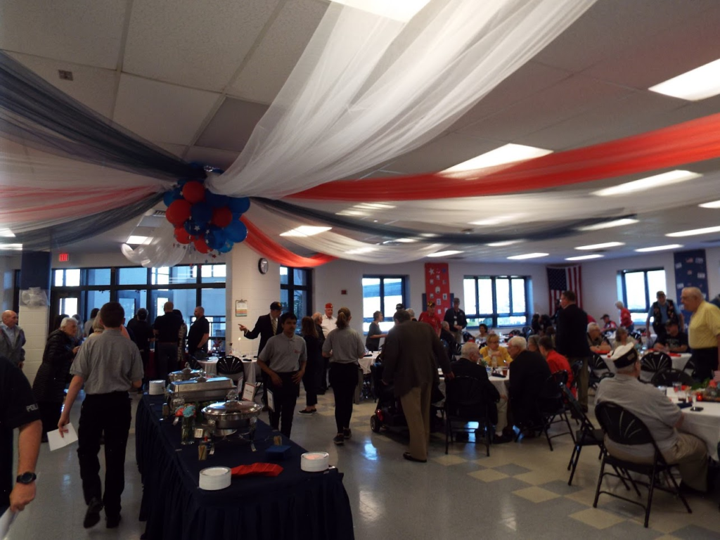 Veterans Appreciation Dinner from the Mundelein Police Department.