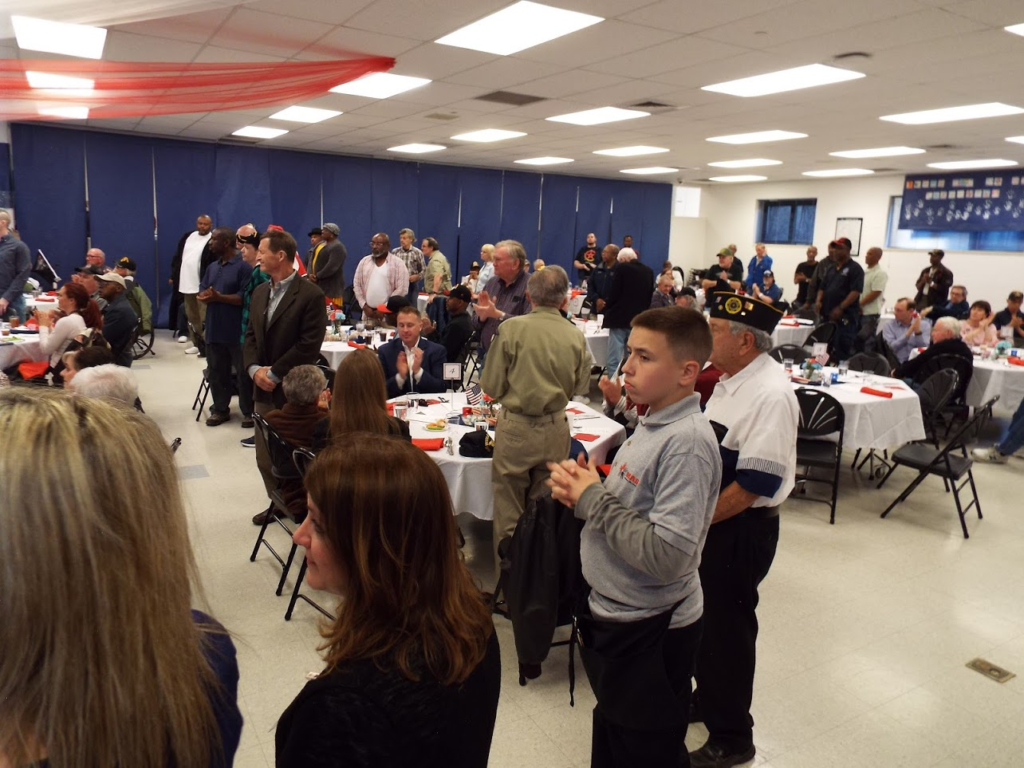 Prayer at Mundeleing Police Veterans Dinner.