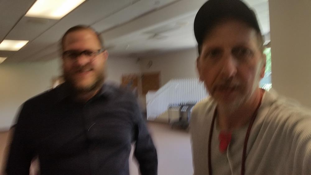 Photo of Jon Blevins and Stephen F. Condren.