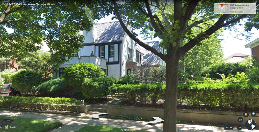 Home of the Reverend Jesse Jackson, Jackson Park Highlands.