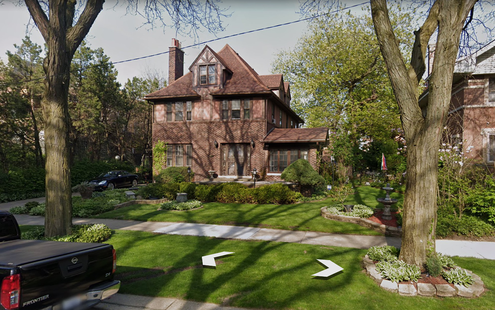 The home of Michael Howlett on Bennet Avenue, in the Jackson Park Highlands.