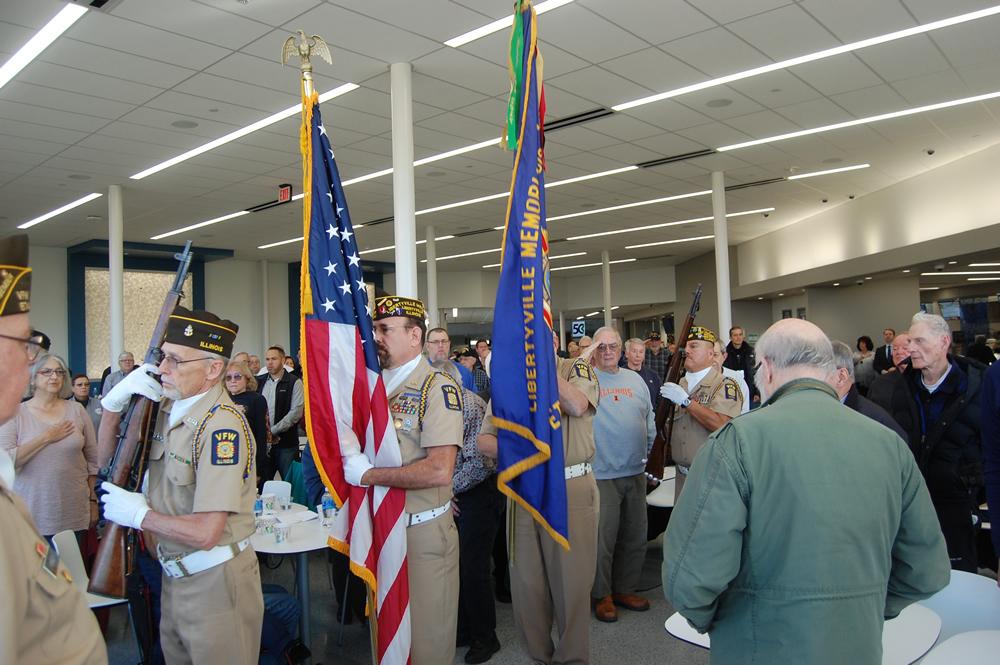 Congressman Brad Schneider's Veterans Breakfast, College of Lake County, November 8, 2019.