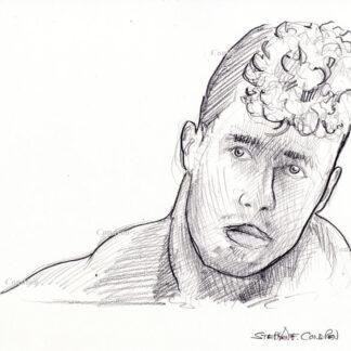 Men & Boys Pencil Drawings