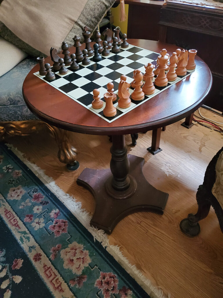 Ace is the place #665Z or Ace Hardware, the store that fixed my chess set dust cover by Stephen F. Condren.