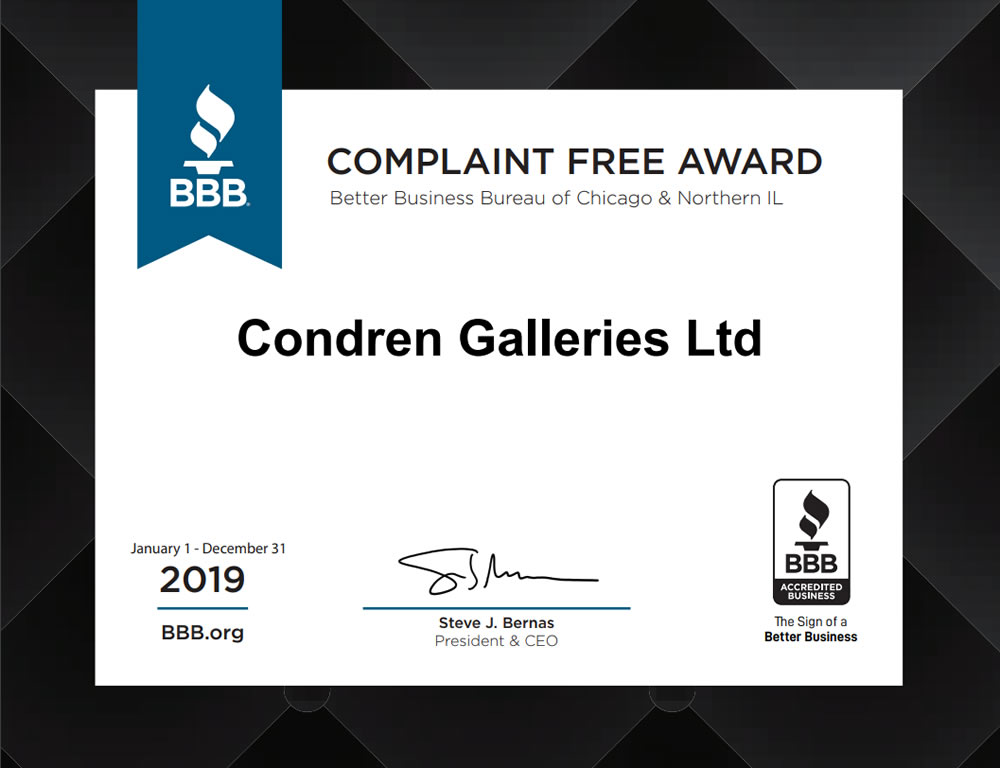 Complaint Free Award by the Better Business Bureau (BBB).