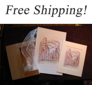 Free shipping for Condren Galleries.
