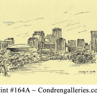 Minneapolis Skyline Pen & Inks